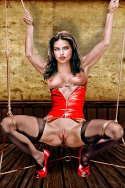 Adriana Lima fetish fantasy - Adriana Lima BDSM