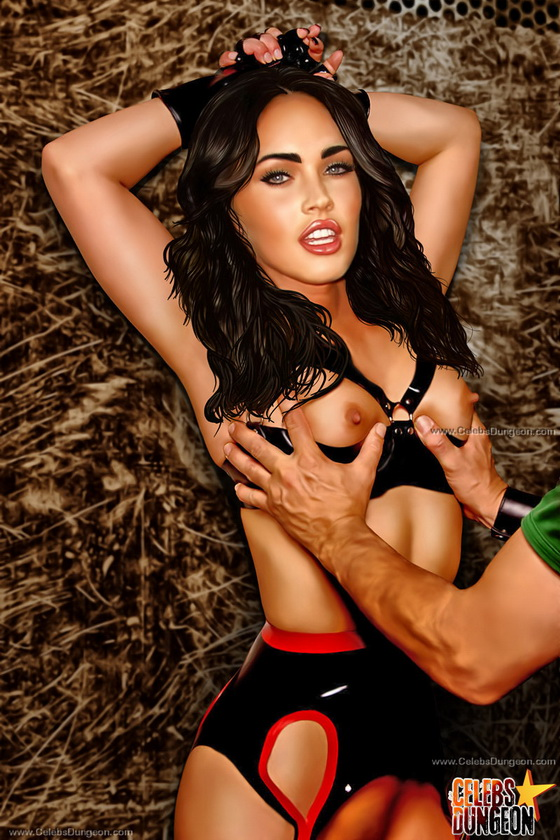 Megan fox bondage