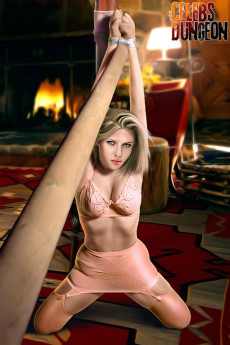 A punishment for celeb blonde - Celebs Dungeon Fantasy Scarlett Johansson BDSM