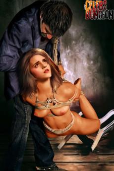 Emma Watson bondage - Celebs Dungeon Fantasy Emma Watson BDSM
