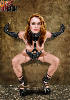 Celebrity punishment - Celebs Dungeon Fantasy Keira Knightley BDSM